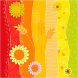 Floral summer background Royalty Free Stock Photo
