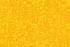 Floral summer banner. Vector illustration Stock Images
