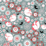 Floral summer pattern Stock Photography