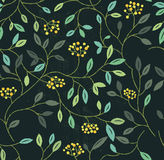 Floral Summer Seamless Pattern Stock Photo