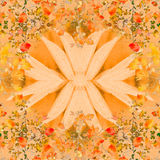 Floral Swirls Decorative Collage Background Royalty Free Stock Photography