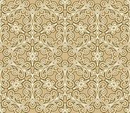 Floral swirls pattern Stock Image