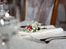 Floral table arragement Stock Image