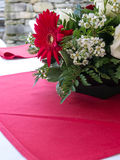 Floral Table Arrangement Stock Photography