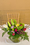 Floral table decoration Royalty Free Stock Photos