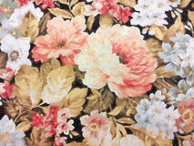 Floral tapestry impressionism Stock Photos