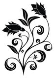 Floral tattoo Royalty Free Stock Photos