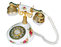 Floral Telephone Royalty Free Stock Image