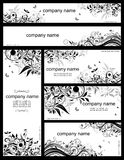 Floral templates Royalty Free Stock Photo
