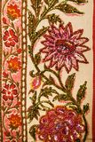 Floral textile. Stock Image