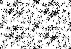 Floral textile pattern. Illustrtion of floral textile pattern design Royalty Free Stock Photos