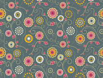 Floral Textile Seamless Pattern Royalty Free Stock Photos