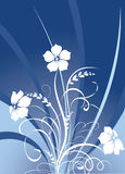 Floral texture. Illustration can be used for different purposes Royalty Free Stock Photography
