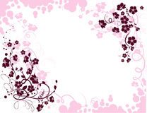 Floral texture. Illustration can be used for different purposes Royalty Free Stock Image