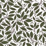 Floral texture with green leaves. Use as a fill pattern, backdrop, seamless texture Stock Photos