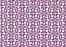Floral texture ornament wallpaper. Abstract floral Damask pattern background for cards or texture. Purple color ornament Royalty Free Stock Images