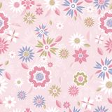 Floral texture, vector Stock Photo