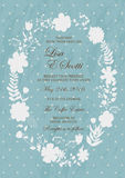 Floral Texture for wedding Stock Photo