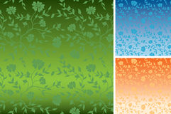 Floral textures for background - vector Royalty Free Stock Photos