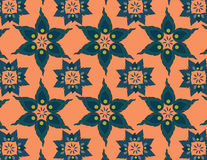 Floral thai patterns. Beautiful patterns flora make with a program Royalty Free Stock Images