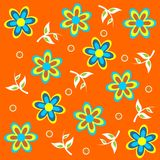 Floral_theme_08 Royalty Free Stock Photo