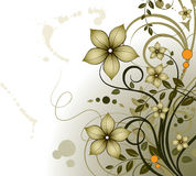 Floral theme. Abstract vector illustration. Suits well for design Stock Photo