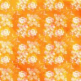 Floral tile royalty free stock image