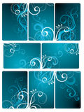 Floral Tile Background Royalty Free Stock Photography