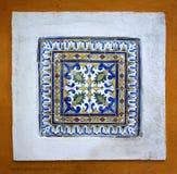 Floral tile pattern Stock Images