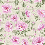 Floral tile pattern Royalty Free Stock Photo