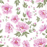 Floral tile pattern. Stock Photos