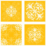 Floral Tile Patterns Stock Photo