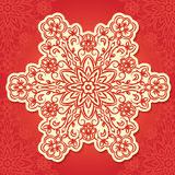 Floral traditional ornament,  illustration Stock Photos