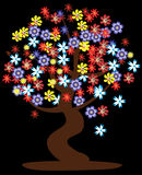 Floral tree Royalty Free Stock Photography