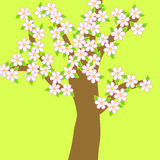 Floral tree Stock Photo