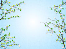 Floral tree illustration Stock Photography