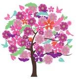 Floral Tree Stock Photos