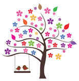 Floral Tree Stock Images