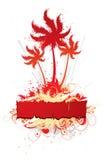 Floral Tropical Design Stock Photo