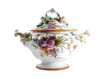 Floral Tureen Royalty Free Stock Photos