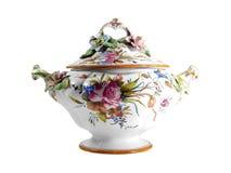 Floral Tureen Royalty Free Stock Photos