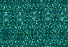 Floral turquoise background. Royalty Free Stock Photography