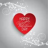 Floral Valentine's day background Stock Photos