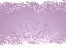 Floral valentines day background Stock Photography