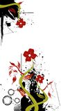 Floral vector Stock Image