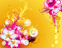Floral vector Royalty Free Stock Photos