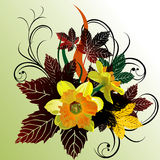 Floral vector abstract Royalty Free Stock Photo