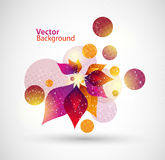 Floral vector abstract background Royalty Free Stock Photography