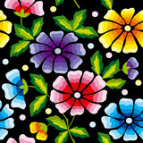 Floral vector background Stock Photography