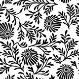 Floral vector background Stock Images